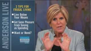Top 3 Money-Saving Tips from Suze Orman