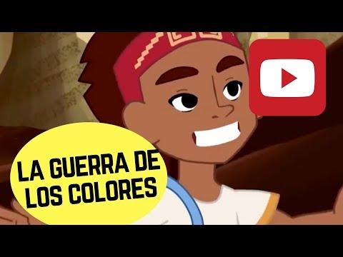 Cuéntame un cuento   La guerra de los colores de la serie (cuentos, mitos y leyendas de Chile)