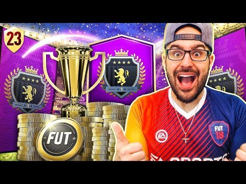 MY AWESOME ELITE REWARDS! FIFA 18 Road To Fut Champions! Ultimate Team #23 RTG