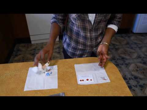 HIV Dried Blood Spot Testing - St Vincent's Hospital Sydney Australia