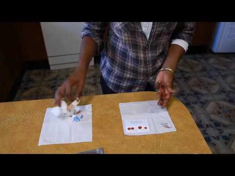 HIV Dried Blood Spot Testing  St Vincent's Hospital Sydney Australia
