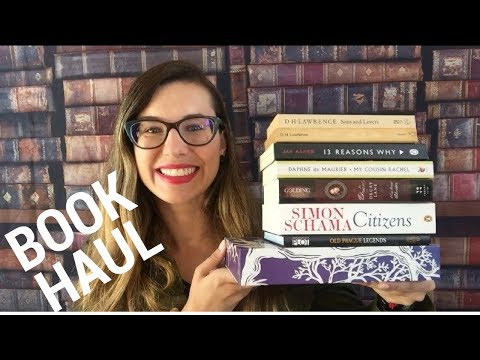 BOOK HAUL MAIO 2017