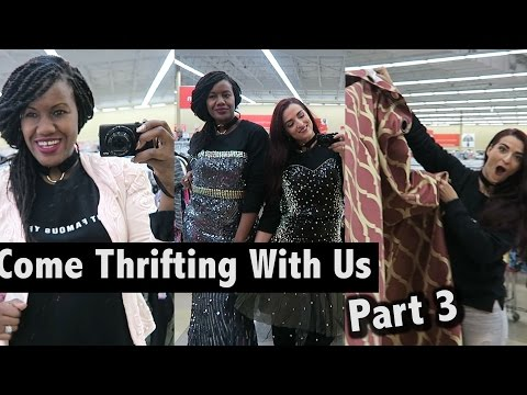 Sequin, vests & more shenanigans at Savers Part 3|Come Thrifting With Us |#ThriftersAnonymous