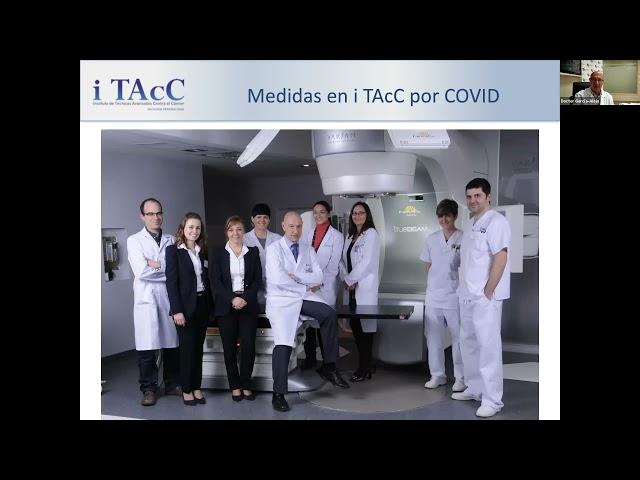 Grabación Webinar: Impacto de la Pandemia en el tratamiento radioterápico del Cáncer de mama