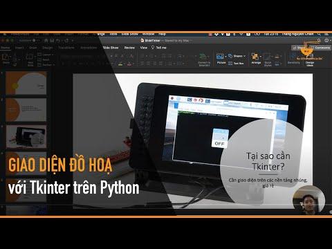 Lập trình giao diện đồ hoạ đa luồng với Tkinter trên Python - Mì AI