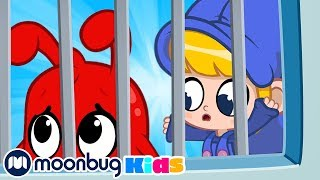 My Magic Pet Morphle - Daddy in Jail! | Full Episodes | Funny Cartoons for Kids | Moonbug Kids TV