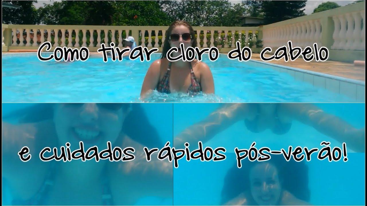 Como tirar cloro de piscina do cabelo cuidados r pidos for Cloro para piscina