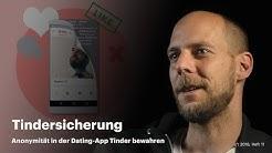 nachgehakt: Wie bewahrt man seine Anonymität in der Dating-App Tinder?