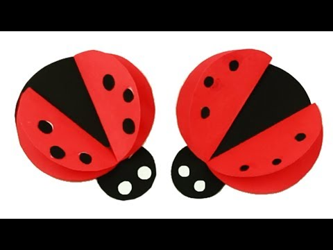 Making Ladybug For Kids 🐞 How to Make Paper Ladybug 🐞 DIY Paper Ladybug | Miraculous Ladybug 2019