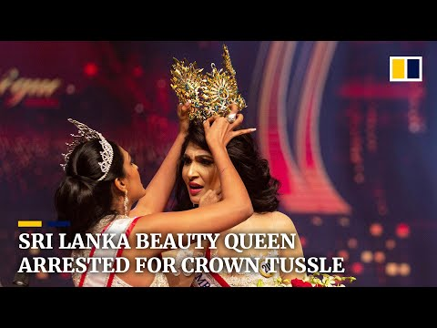 Beauty queen released on bail after Mrs Sri Lanka pageant scuffle