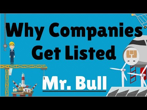 Why companies get listed on stock exchange