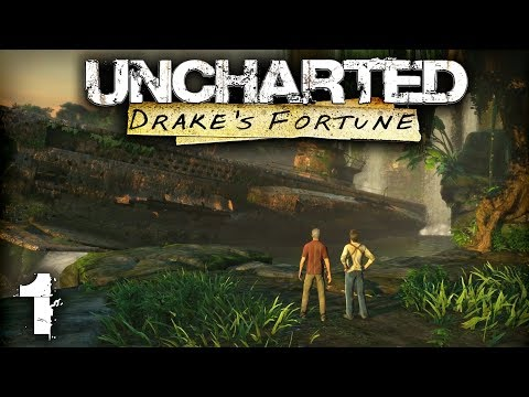 Let's Play Uncharted: Drake's Fortune | Uncharted: The Nathan Drake Collection (PS4) | Part 1