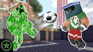 Let's Play Minecraft - Episode 221 - Creeper Soccer X
