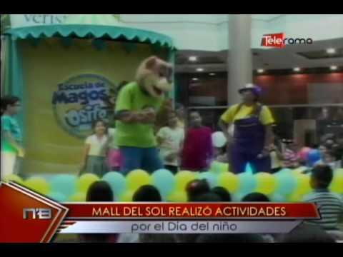 Mall del Sol realizó actividades por el Día del niño