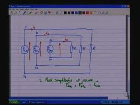 Lecture - 30 Three Phase System