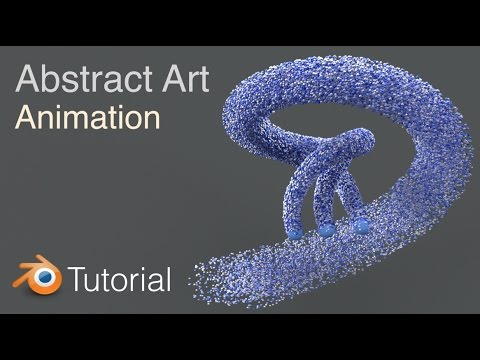 Blender Abstract Art Animation Tutorial (Cycles)