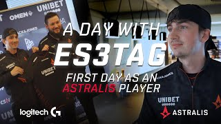 A Day In The Life of es3tag | The New Astralis Player!
