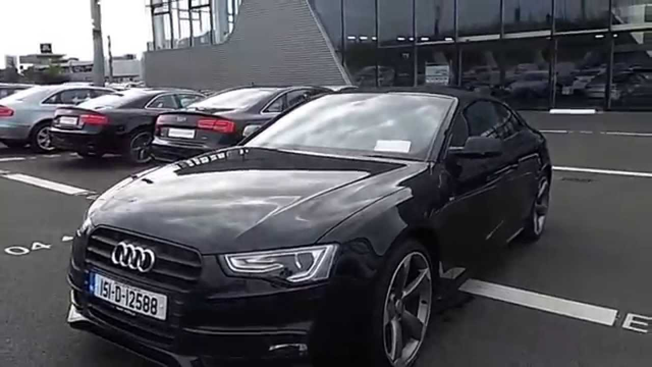 151d12588 2015 audi a5 2 0 tdi multitronic 177 s line audi north dublin youtube. Black Bedroom Furniture Sets. Home Design Ideas