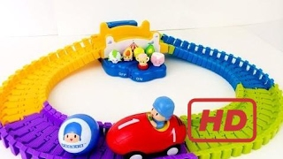 [Toy Planet] Pocoyo Swiggle Trak Race Car Shopkins Go For A Ride Woody Toy Story Cars James