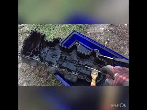 Замена прокладки клапанной крышки m112 Mercedes w211