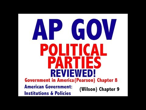 AP Gov Explained: Government In America Chapter 8