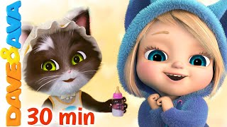 🐱 Ten Little Kittens and More Nursery Rhymes & Kids Songs | Dave and Ava 🐱