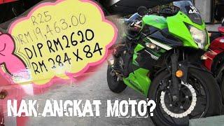 Berapa gaji minimum untuk angkat moto 250?