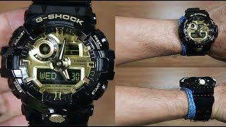 CASIO G-SHOCK GA-710GB-1A BLACK GOLD - UNBOXING