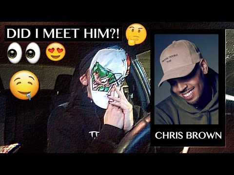 How I got CHRIS BROWN'S HAT!!! (new intro)
