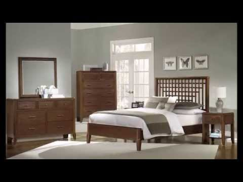 Chambre a coucher decoration moderne youtube for Modele de decoration de chambre a coucher
