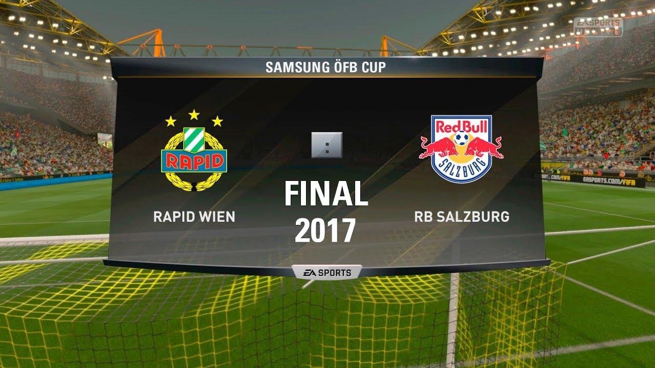 öfb Cup Final 2017 Rapid Wien Redbull Salzburg 4 1