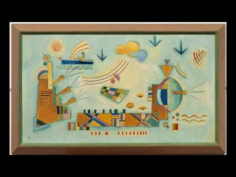 Wassily Kandinsky 瓦西里·康寧斯基 (1866-1944) Expressionism Abstract Art Russian