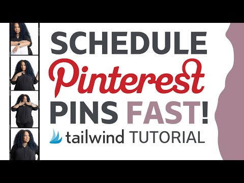 Schedule Multiple Pinterest Posts | Use Tailwind for Pinterest to schedule hundreds of pins