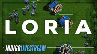 Loria, A Classic Warcraft Like Rts   50,000 Subscriber Livestream