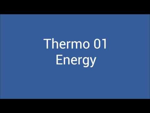 Thermo 01 - Energy