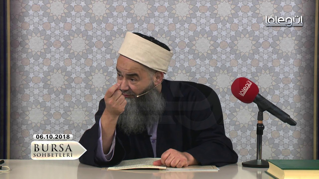 6 Ekim 2018 Tarihli Bursa Sohbeti - Cübbeli Ahmet Hocaefendi Lâlegül TV