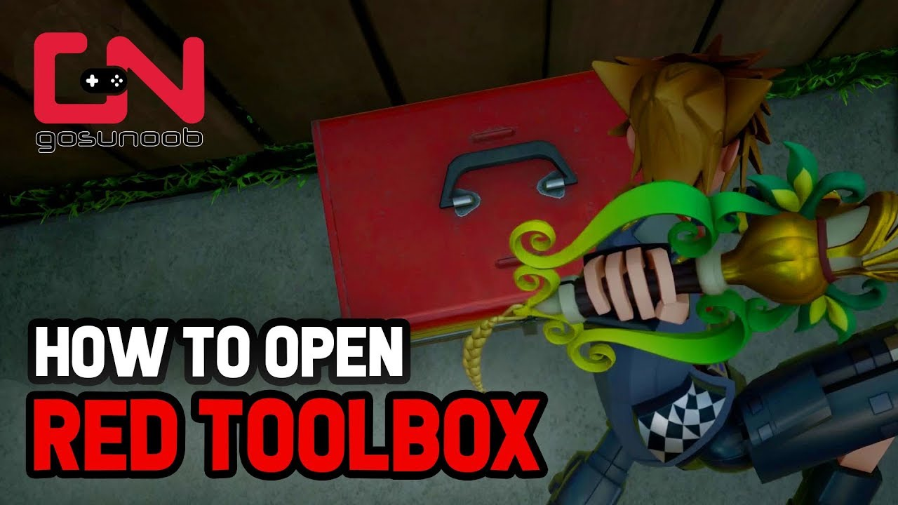 Kingdom Hearts 3 How To Open Red Toolbox In Toy Box Youtube