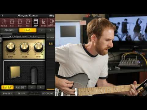 iRig + AmpliTube for the iPhone