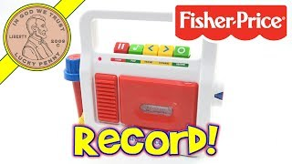 Play Tape Recorder Fisher Price Classic Toys - Record Your Own Voice
