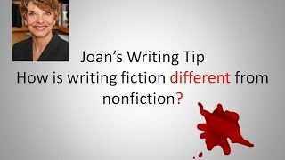Writing Tip--How Does Writing Differ from Fiction to Nonfiction