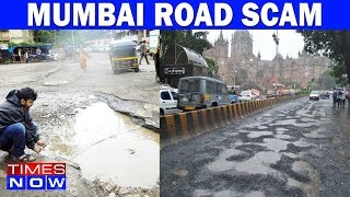 Sting Operation EXPOSES Corrupt BMC Officials   Mumbai Pot Holes