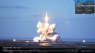 La fusée Falcon Heavy de SpaceX, la plus puissante du monde, a décollé de Floride