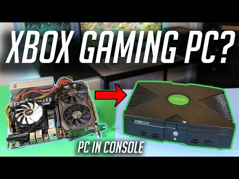 I Built A Gaming PC Inside Of A Console...
