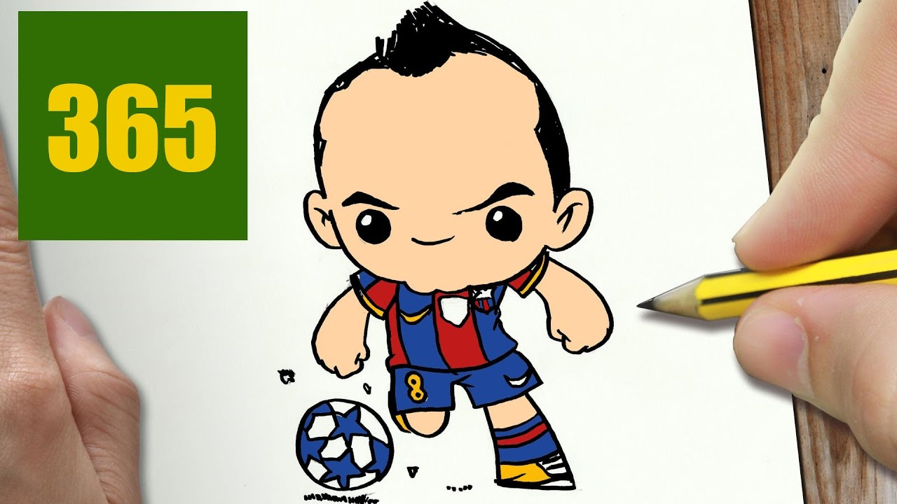 Dessin Kawaii Facile Ballon De Foot