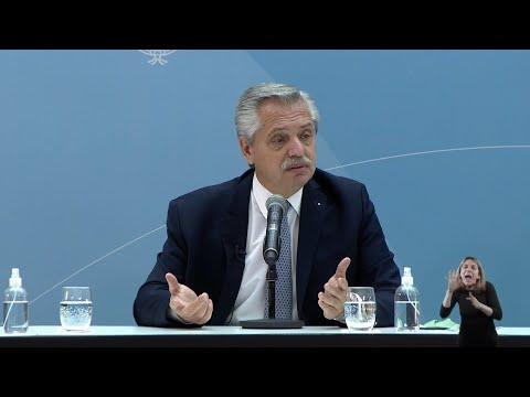 Fernández: Es importante el desarrollo de la industria argentina