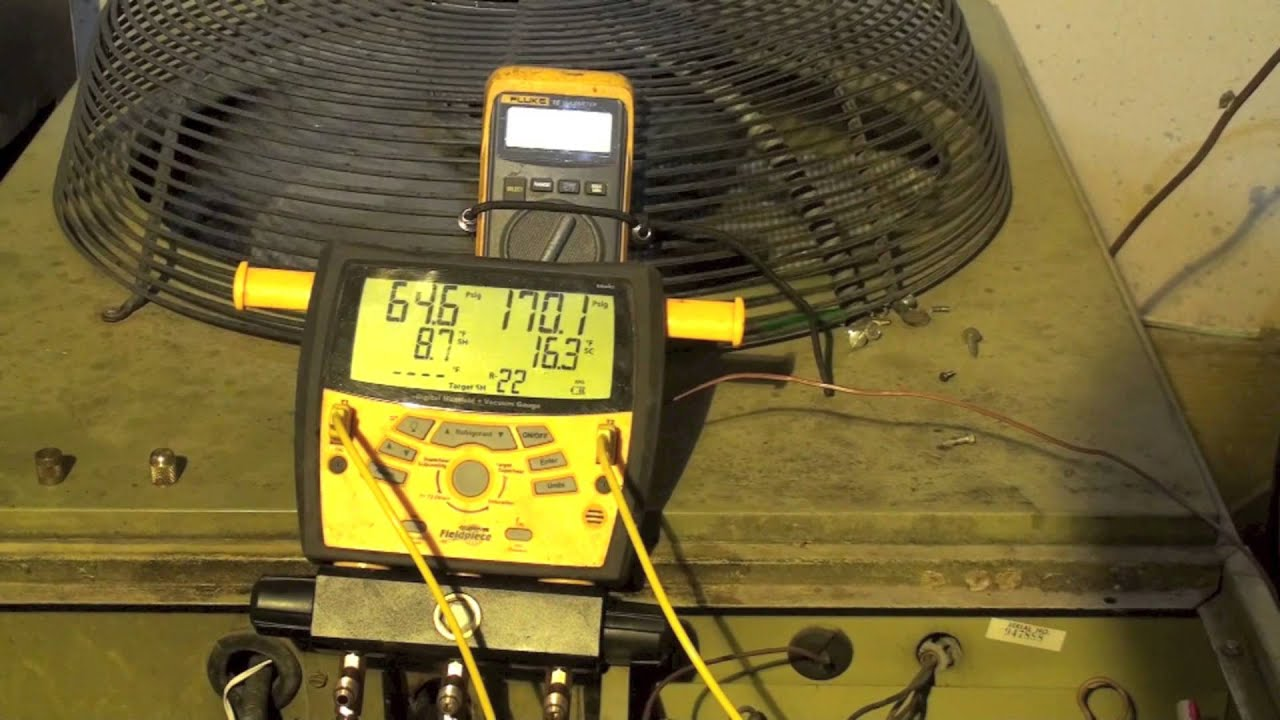 Charge The Heat Pump By Weight Part 4