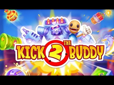 Kick The Buddy 2 Forever Gameplay Walkthrough Part 1 Ios Android Best Stress Relief Game