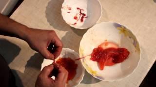Засолить красную икру в домашних условиях(Засолить красную икру в домашних условиях. Потрошить мороженую горбушу, вынуть икру, отделить икру от плено..., 2014-10-31T19:03:07.000Z)