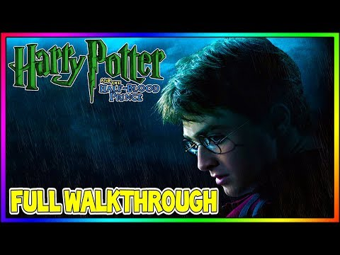Harry Potter And The Half-Blood Prince - FULL 100% Walkthrough