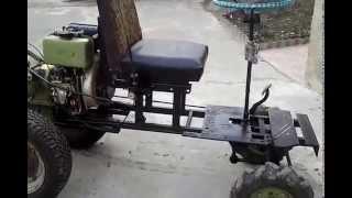 Самодельный минитрактор из мотоблока ZIRKA-105